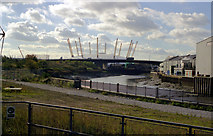 TQ3980 : The Millennium Dome by Dr Neil Clifton