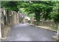 SE0321 : Nathan Lane - Mill Bank Road by Betty Longbottom