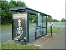 TL8663 : Bus stop by Keith Evans