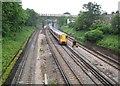 TQ2474 : Putney: Network Rail and London Underground railways by Nigel Cox