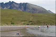 NG4120 : Glenbrittle Beach by John Allan