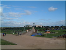 SK1814 : Armed Forces Memorial, under construction September 2007 by Chris' Buet