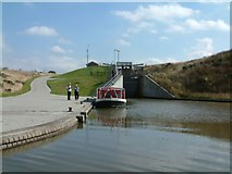 NS8579 : Rough Castle Lock by Gerald England