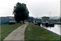 SE3231 : Knostrop Fall Lock No 2, Aire and Calder Navigation by Dr Neil Clifton