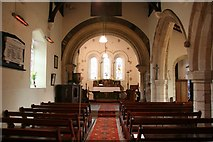 SK8789 : St.Lawrence & St.George's nave by Richard Croft