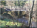 SN9084 : River Severn,Glynhafren road bridge. by kevin skidmore