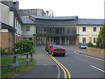 SN5981 : Bronglais hospital by Neil Parker