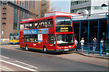 TQ3266 : New bus at West Croydon bus station by Dr Neil Clifton