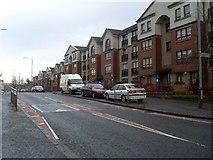 NS5073 : Faifley Road flats by Stephen Sweeney