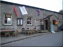 SD9062 : Malham village hall by Nick Mutton