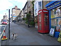 NZ0516 : Telephone box, The Bank, Barnard Castle by Nicholas Mutton