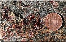 NC1444 : Garnetiferous Gneiss by Anne Burgess