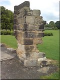 SE2536 : The remains of the Vesper Gate, Kirkstall by Rich Tea
