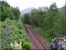 NN3578 : Railway Line by Michael Graham