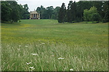 SP6737 : The Temple of Concord and Victory, Stowe by Philip Halling