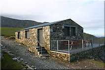 SH5956 : The Snowdon Halfway House by Terry Hughes