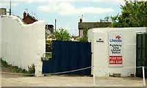 J5950 : Temporary lifeboat station, Portaferry by Albert Bridge