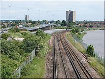 SU3613 : East of Totton by John Lucas
