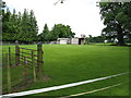 SO8240 : Small paddock near The Boynes by Peter Whatley