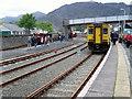 SH7045 : Blaenau Ffestiniog Railway Station by Duncan and Gareth Alderson