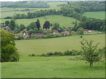 SU7691 : Cobstone Hill and Turville by David Hawgood