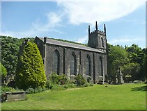 SE0023 : Church of St John in the Wilderness, Cragg Vale, Mytholmroyd by Humphrey Bolton