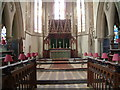 SO5865 : Interior of St. Michael's College, Tenbury by Willj
