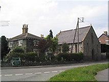 SJ2618 : Chapel on the A483, Four Crosses by Tim Heaton