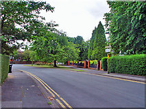 TA0731 : Leafy suburb by Peter Church
