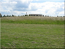 SK1814 : Armed Forces Memorial - View across an ancient  bronze age site by Alan Heardman