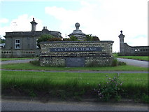 TM0576 : Entrance to Redgrave Park by Keith Evans