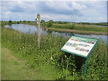 SK1814 : River Tame and Footpath by Alan Heardman