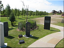 SK1814 : The National Association of Memorial Masons (NAMM) Memorial Garden by Alan Heardman