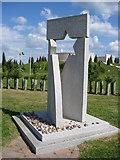 SK1814 : Jewish Memorial by Alan Heardman