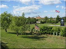 SK1814 : R.A.F Regiment Memorial by Alan Heardman