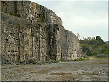 SK2076 : Furness Quarry looking towards the entrance by John Fielding
