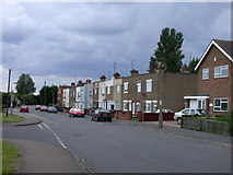 TL4197 : Terraces in Elliott Road by Keith Edkins