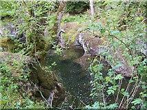NN9328 : River Almond at Buchanty by Maigheach-gheal