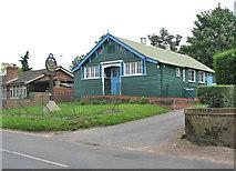 TG2010 : Hellesdon Parish Hall by Evelyn Simak