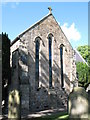 NY9864 : St Andrew's Church - south transept, exterior by Mike Quinn