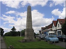 SP2382 : Cyclists Memorial, Meriden by Keith Williams