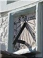 NY9864 : The Angel Inn - sundial (1726) by Mike Quinn