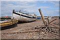 TF7944 : Fishing boats and paraphernalia by Bob Jones