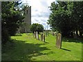 TM1698 : All Saints, Wreningham, Norfolk by John Salmon