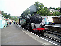 NZ8205 : Grosmont station by Dr Neil Clifton
