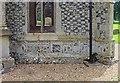 TF8200 : All Saints Church, Hilborough, Norfolk - Porch detail by John Salmon
