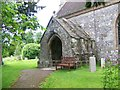 ST9917 : Porch, Church of St Mary the Virgin, Sixpenny Handley by Maigheach-gheal