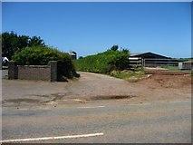 SM9306 : Entrance to Lower Scoveston farm by Shaun Butler