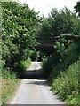 TQ1850 : Boxhill Road railway bridge by Hugh Craddock