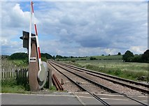 SK6515 : Railway line to Melton Mowbray by Mat Fascione